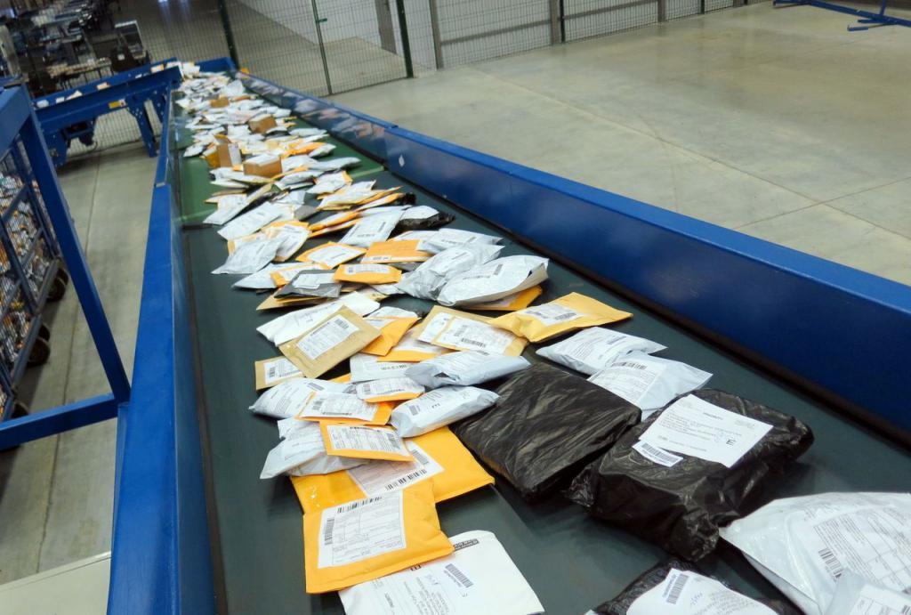 распределение посылок