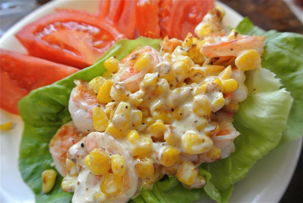 многих простой салат из креветок рецепты с фото бананов