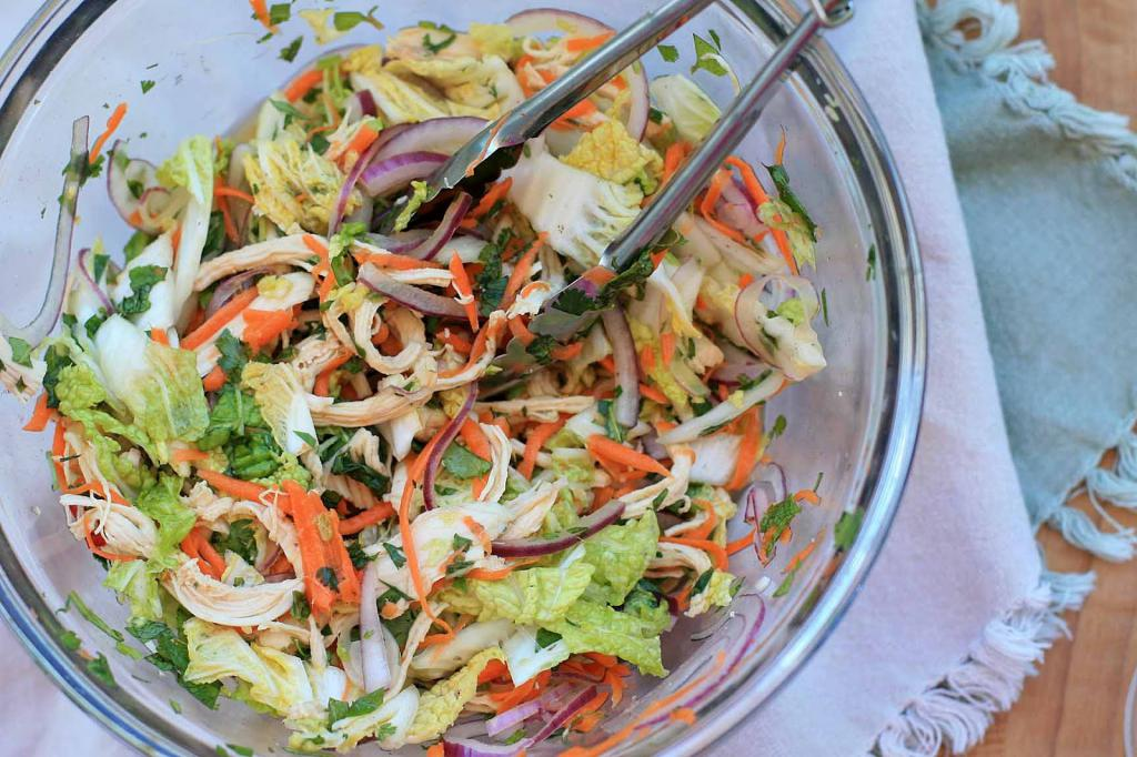 simple recipe with chinese cabbage