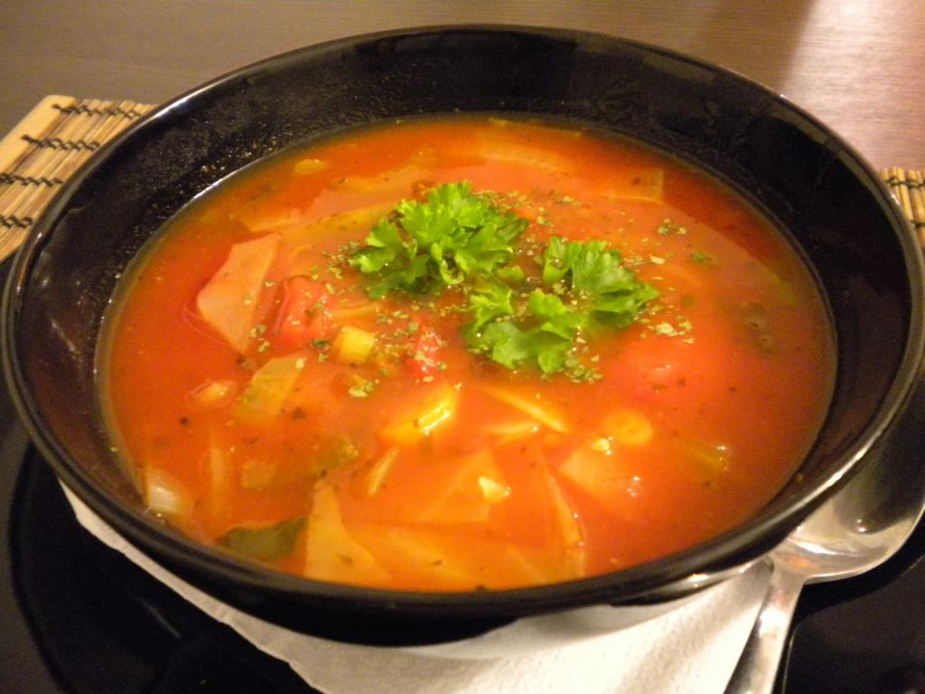 Варианты супов для похудения