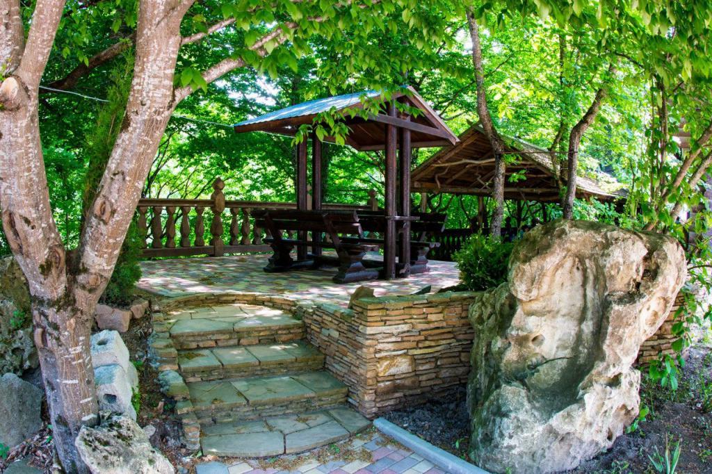 Adygea recreation center mountain fun