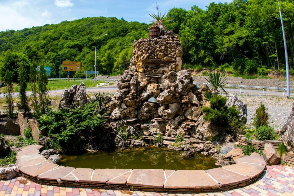 Adygea thermal springs mountain fun
