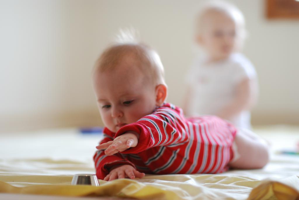 Montessori technique for children from a year