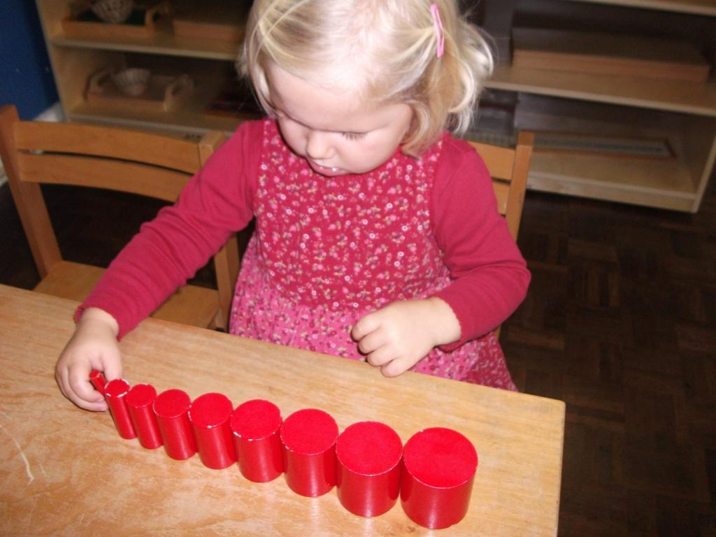 Montessori children development technique
