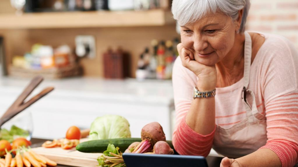 nutrition in old age and old age