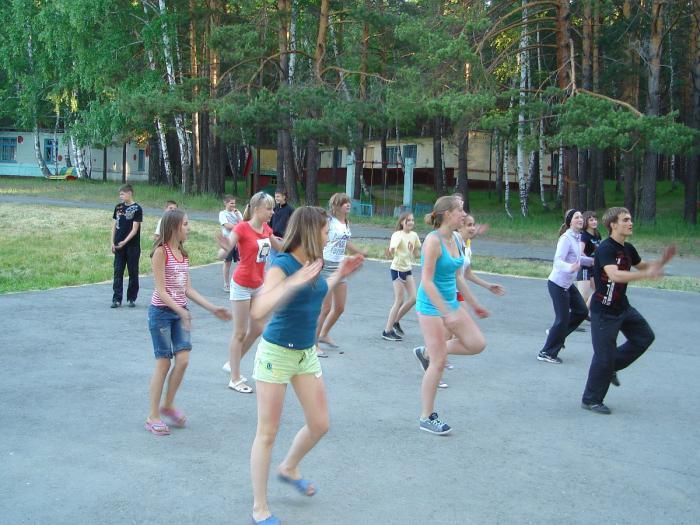 Лагерь Юность Алтайский край