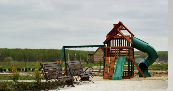 поселок санатория Белое озеро