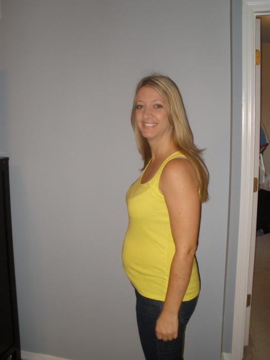 14 неделя беременности: ощущения в животе