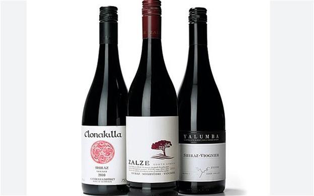 вина австралии шираз