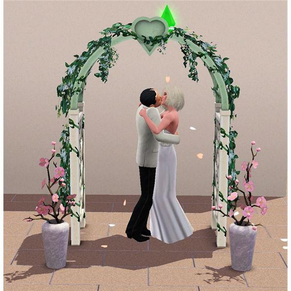 свадьба в Симс 3
