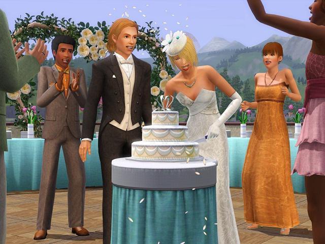 где пожениться в Симс 3