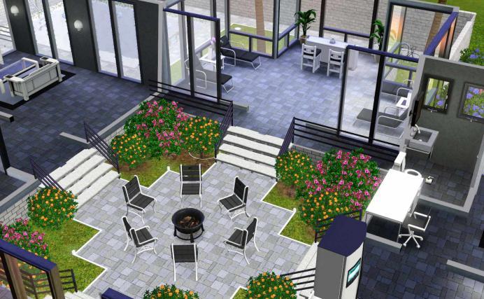 Как построить в симс 3 красивый дом
