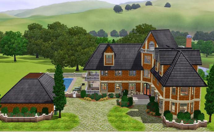 Как выстроить в «Симс» три прекрасный дом — полезные советы…