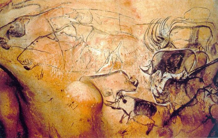 Людей древние наскальные рисунки