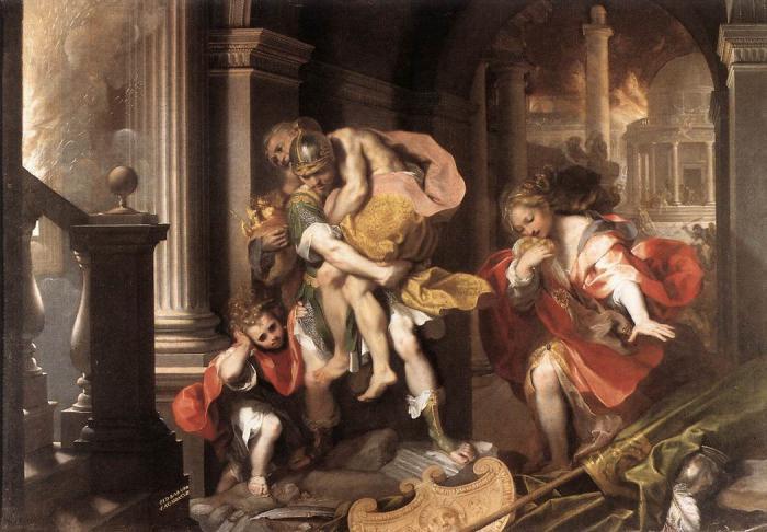 Древний рим краткое содержание