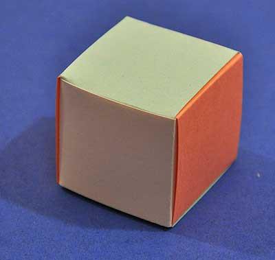 Оригами из бумаги квадрат