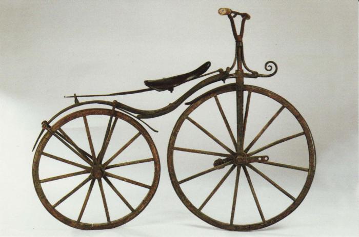 где изобрели велосипед