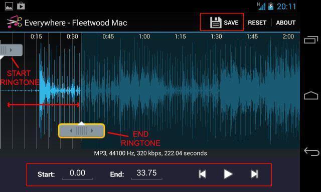 Как на андроиде поставить мелодию на