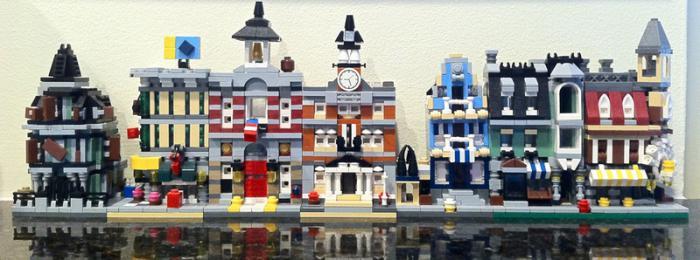Лего-сити. Как сделать дом