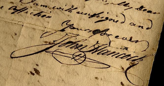 Как красиво сделать подпись