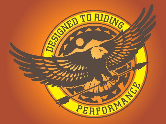 логотип в виде орла