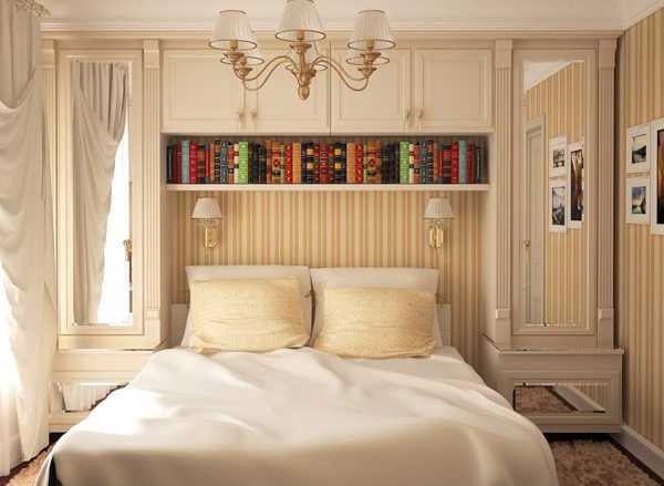 маленькая спальня дизайн в хрущевке