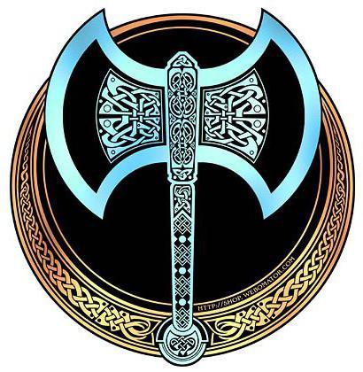 Секира Перуна - славянский оберег. Значение символа