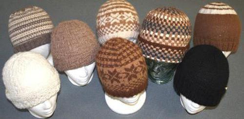 узоры для шапок спицами схемы и описание