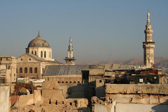площадь сирии