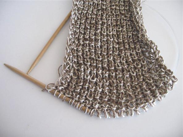 вязание узор кукуруза