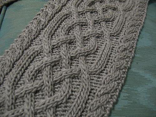 как вязать спицами узор плетенка