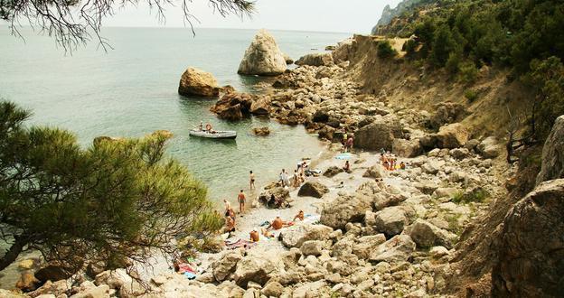 Пляжи Казантипа  фото лучших пляжных вечеринок