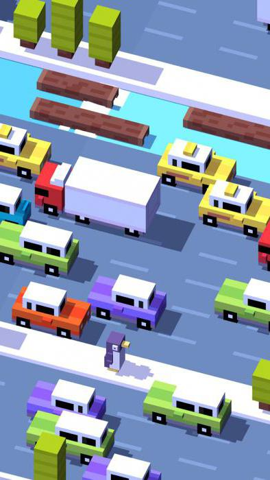 Как открыть персонажа в игре crossy road