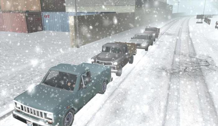 код на гта сан андреас погода зима