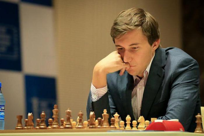 сергей карякин шахматист фото