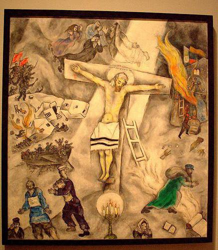 """White crucifixion"": a detailed description of the paintings of Marc Chagall"