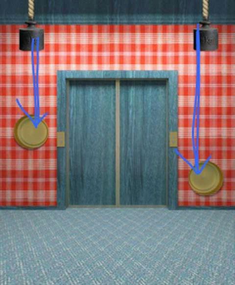 прохождение игры 100 дверей 4 уровень видео