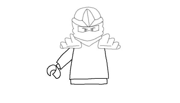 Detail about how to draw ninjago