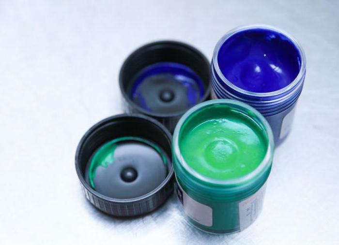 как получить бирюзовый цвет при смешивании красок