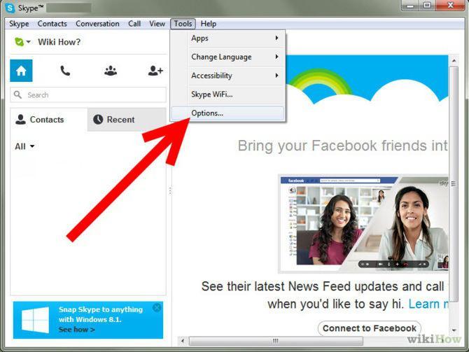 В скайпе эффекты веб камеры в скайпе