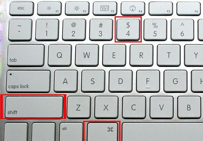 Как на mac сделать скриншот