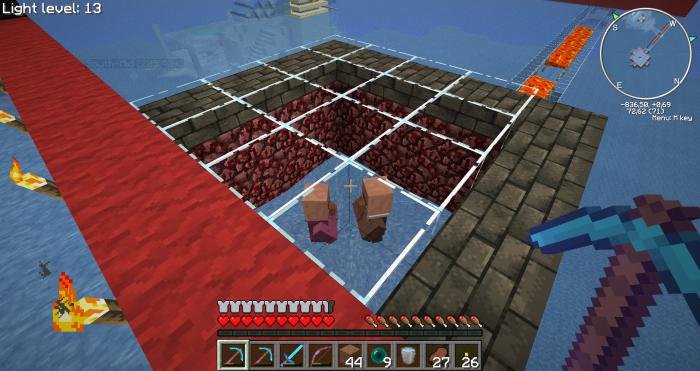 Как сделать ферму железа в майнкрафт 181