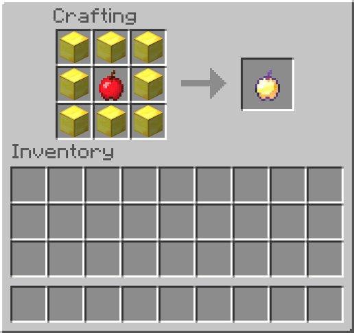 Как сделать зачарованное яблоко