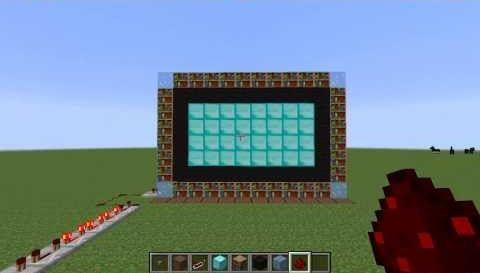 Видео майнкрафт как сделать телевизор