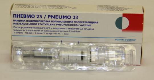 вакцинация пневмо 23 инструкция - фото 5