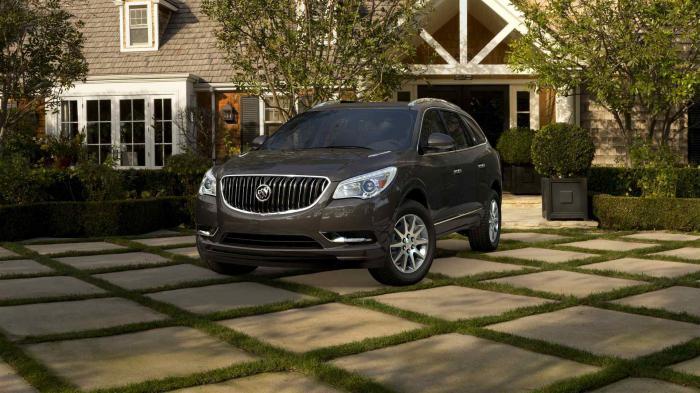 Buick Enclave: фото, цена и отзывы владельцев автомобиля
