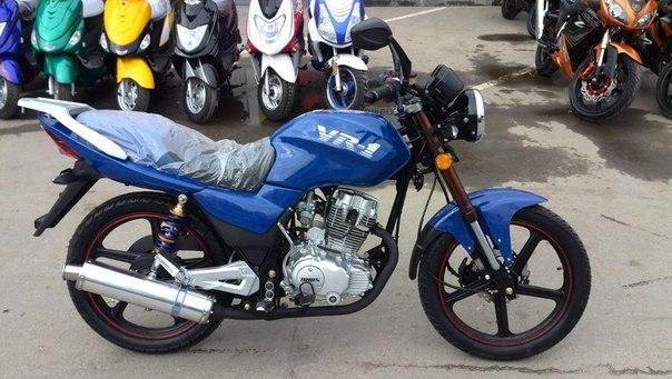 Мотоцикл Irbis VR-1 и его особенности