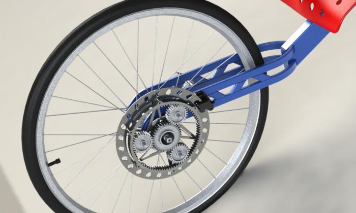 велосипеды с планетарной втулкой: