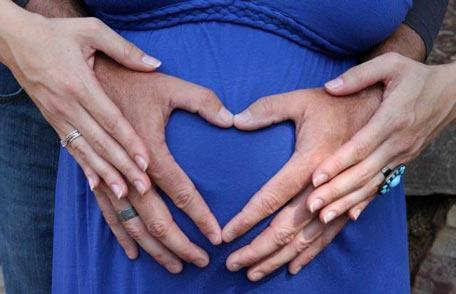 Размеры живота по неделям беременности таблица