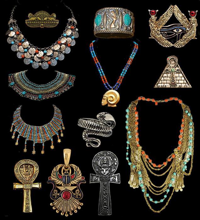 египетские украшения фото